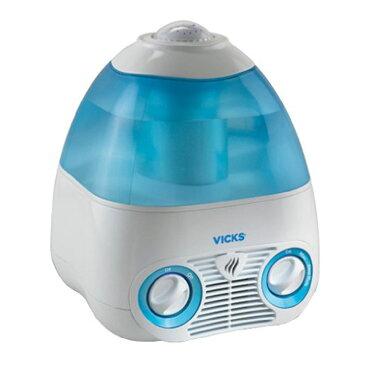 気化式加湿器(ブルー)ヴィックス 星のプロジェクター付 タンク容量4L VICS 加湿 保湿 省電力 Kaz MODEL V3700