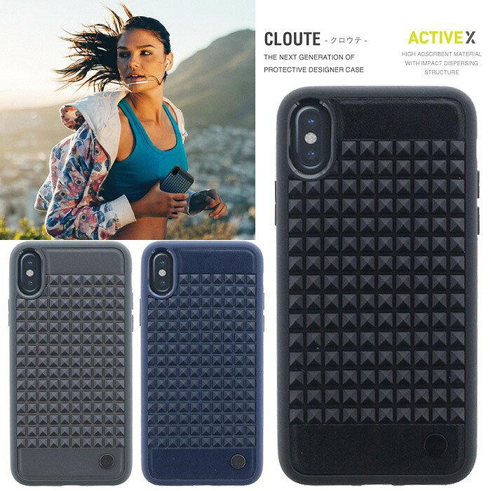 スマートフォン・携帯電話用アクセサリー, ケース・カバー iPhoneX Cloute Eclipse Uniq IP8HYB-CLOT