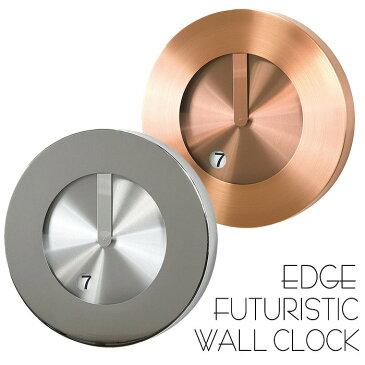 時計 壁掛け 掛け時計 壁掛け時計 EDGE FUTURISTIC WALL CLOCK 30cm ウォールクロック 掛時計 壁掛け 壁時計 クロック インテリア おしゃれ デザイン スチール 個性的 スパイス TELR1010