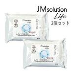 【即日出荷】JM solution Life ピュアガード除菌・抗菌ウェットティッシュ 20枚入り 2個セット ノンアルコール 除菌 抗菌 ウェット ティッシュ ワイプ ふき取り 拭き どこでも簡単 持ち歩き 話題 人気