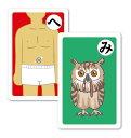 だじゃれかるた カルタ 絵札 文字札 カードゲーム おもちゃ 知育玩具 お正月 ファミリー プレゼント アーテック 3285
