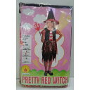 【アウトレット(保証なし)】プリティレッドウィッチ キッズサイズ S 100?120cm コスプレ 衣装 仮装 変装 RUBIES JAPAN? 802208