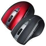 マウス 無線マウス 5ボタン 静音BluetoothブルーLEDマウス 光学式 LEDマウス 圧倒的グリップ感 サンワサプライ MA-BTBL167