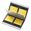 microSD収納トレー付きの丈夫でスタイリッシュなアルミ製のメモリーカードケース CFカード用 両面収納タイプ サンワサプライ FC-MMC5CFN