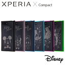 Xperia X Compact SO-02J エクスペリアXコンパクト ケース/カバー Disney ディズニーキャラクター ハイブリッドケース レイアウト RT-RDXPXCU