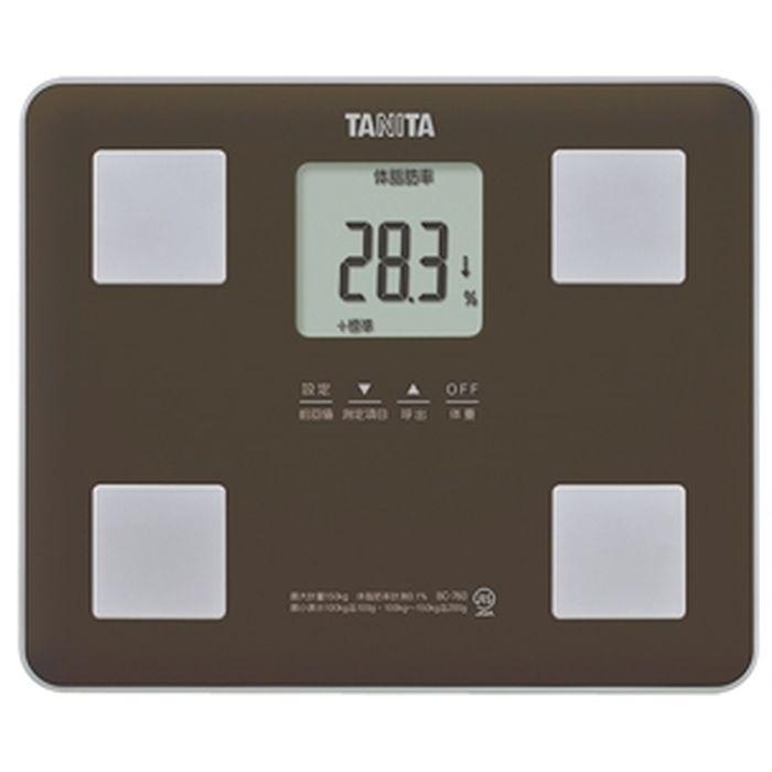 体組成計 ブラウン タニタ BC-760-BR