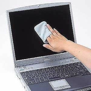 サンワサプライ ディスプレイクリーニングパッド(ブルー) CD-CC23BL