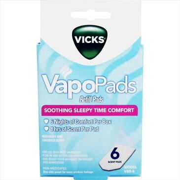 スチーム加湿器 ヴィックス V750 専用 芳香パッド 6枚入り VICKS VBR-5A