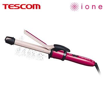ヘアアイロン カール マイナスイオン スチーム ione イオネ パイプ径19mm まとまり つや うるおい 美 艶やか なめらか ヘアケア