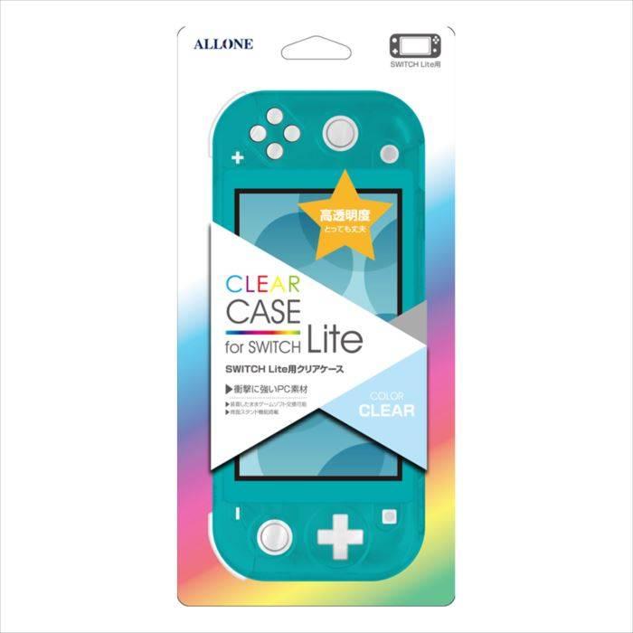 ニンテンドー スイッチ ライト Nintendo Switch Lite 用 クリアケース キズや汚れ 衝撃からしっかり保護 アローン ALG-NSMCC
