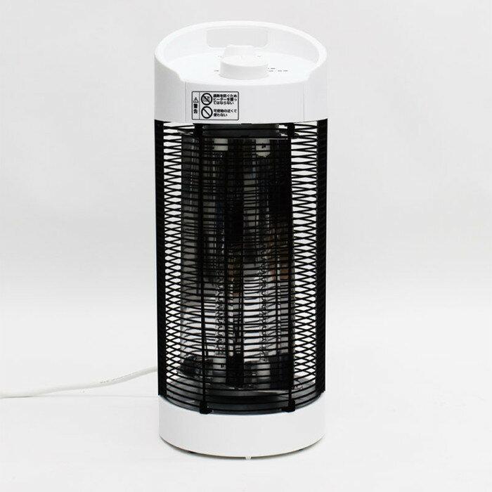 【沖縄・離島配送不可】カーボンヒーター 360度回転 全方位を回転しながら温める 大きなダイヤルで簡単操作 温度設定2段階 軽量 生活防水設計 ヒロ・コーポレーション HKM-360