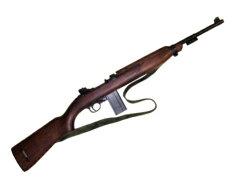 1941年ウィンチェスター社が発売した小型の自動小銃M1カービン銃 ウィンチェスター ベルト付き...