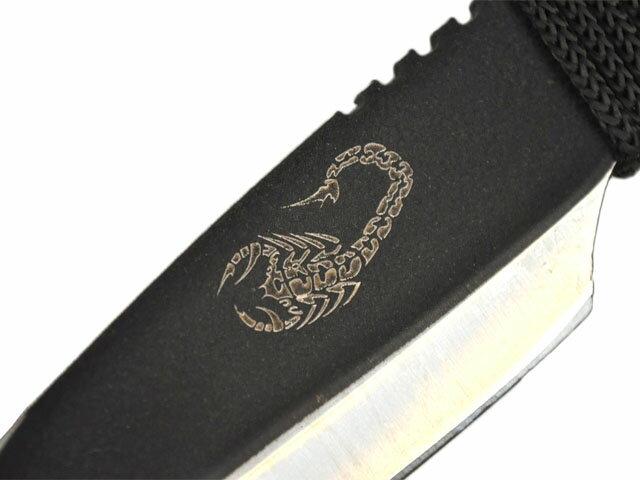スコーピオン コードグリップ◆ナイフ シースナイフ コレクション 刃物