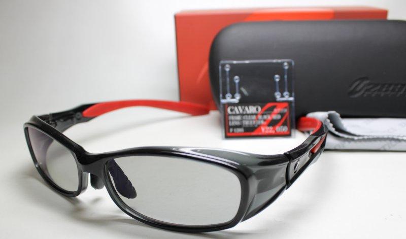 - (ジール) CAVARO TALEX 偏光レンズ (カヴァロ) 【ご予約ご注文】 クリアブラック/ トゥルービュー 偏光サングラス レッド (タレックス) F-1205 ZEAL OPTICS