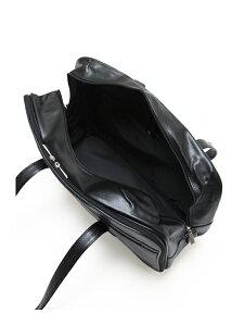 スクールバッグ合皮【arCONOMiスクバ(無地ブラック)】高校生学生中学女子校生通学学校鞄