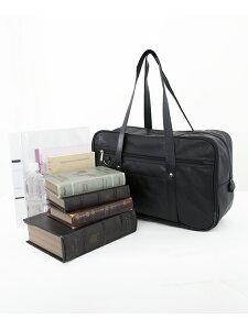 【スクールバッグ合皮】【arCONOMiスクバ(無地ブラック)】高校生学生中学女子校生通学学校鞄スクールバッグ合皮