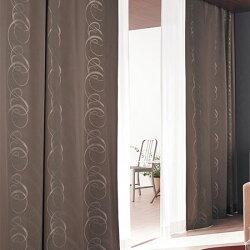 カーテンオーダーカーテンモダン東リプラスボヌールKTB5106~KTB5107フラット縫製(FT)幅369~466cm×丈161~180cm
