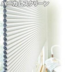 ニチベイハニカムスクリーンレフィーナココン(非防炎)シングルスタイルループコード式幅281~300cm×丈30~60cm