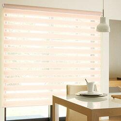 調光ロールスクリーンTOSOターンアップスクリーンVISIC(ビジック小窓)ゼブラ幅30~80cm×丈121~160cm