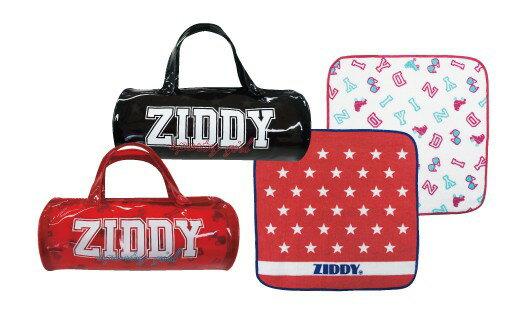 【単品での購入は不可となります】《非売品》新作ZIDDYのみ16200円以上お買い上げでのプレゼント・ドラムBAGポーチ&ハンドタオル
