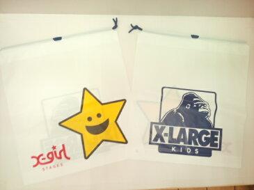 中 400円 エクストララージ X-LARGE エックスガール X-GIRL 共通ギフトボックス プレゼント包装 ギフト包装【中】