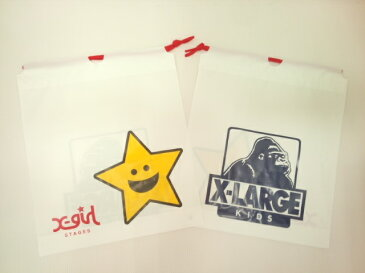 小 350円 エクストララージ X-LARGE エックスガール X-GIRL 共通ギフトボックス プレゼント包装 ギフト包装【小】