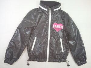 EARTHMAGIC(アースマジック)★ハート&アースロゴの収納フードシャカシャカジャケット
