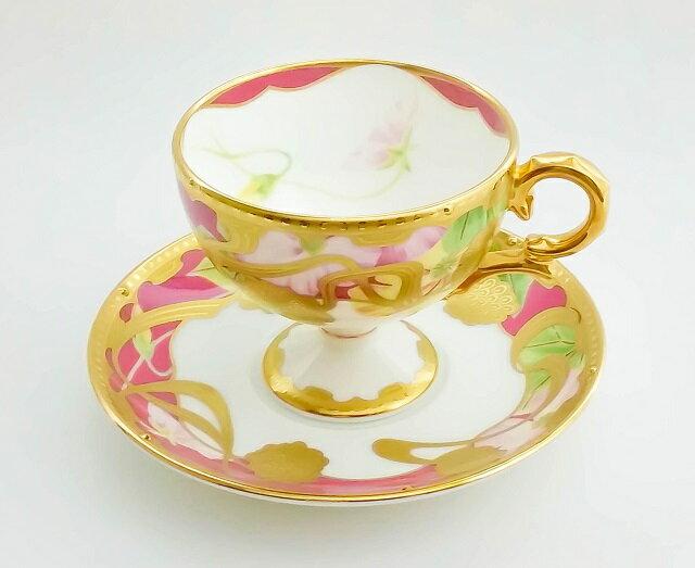 ノリタケ Noritake【和花コレクション ティー・コーヒー碗皿 (夕顔) T52401/4662-5】洋食器 陶磁器 カップ&ソーサー コーヒー 紅茶 ギフト 贈り物 贈答品 内祝い お祝い 母の日 敬老の日