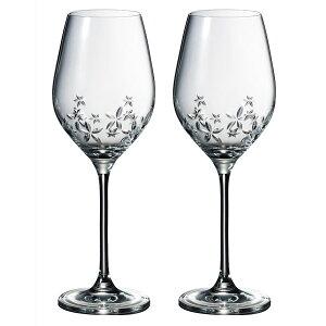 ナルミ NARUMI 【グラスワークス スターフラワー ワイングラスペア 360cc GW4156-62723A】ワイングラス ペアグラス ご贈答 ギフト プレゼント お祝い 結婚祝い 内祝い