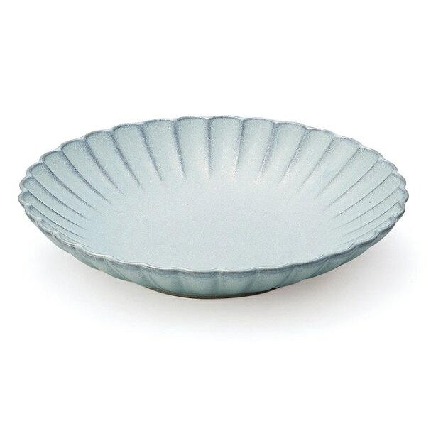 アイト—瀬戸焼日本製 花(Hana)花皿М16cmみずはだ288134 花形プレート和モダンおしゃれシンプル和洋兼用瀬戸焼陶器