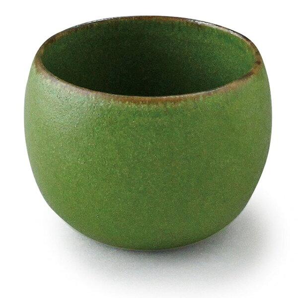 アイトー美濃焼日本製 翠(Sui)丸碗翠うぐいす288046 おしゃれマルチ碗マルチカップマルチボウル小鉢和洋兼用鶯色うぐいす色