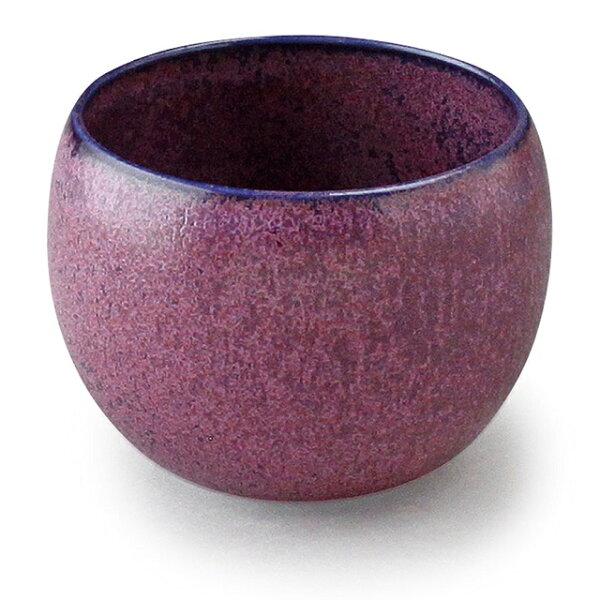 アイトー美濃焼日本製 翠(Sui)丸碗翠くわの実288048 おしゃれマルチ碗マルチカップマルチボウル小鉢和洋兼用パープルむらさ