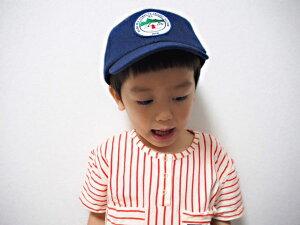親子でかぶれる総布CAP!KidsM.KWappenCap(GRINBUDDY)