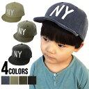 【ゆうパケット送料無料】Kids NY Logo Cap(G...