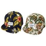 【ゆうパケット送料無料】KidsPalmTreeCap(GRINBUDDY)ボタニカル柄春夏帽子CAPキャップ親子アイテム男の子女の子