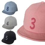 【ゆうパケット送料無料】KidsNumberCap(GRINBUDDY)帽子キャップ数字紫外線対策日焼け防止親子アイテム男の子女の子
