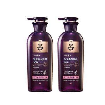リョ/呂 紫 ジャヤンユンモシャンプー400ml+400ml 2本セット【乾燥頭皮用】滋養潤毛,脱毛防止、ストレスで弱った毛根を健やかに,ドライヘアをしっとり仕上げる,韓国シャンプー,韓方