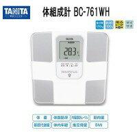 タニタ 体組成計BC-761-WH (ホワイト) 10P09Jul16