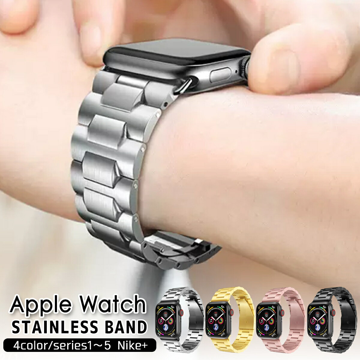 腕時計用アクセサリー, 腕時計用ベルト・バンド  Apple Watch 38mm 42mm 40mm 44mm Series1 2 applewatch 3 applewatch4
