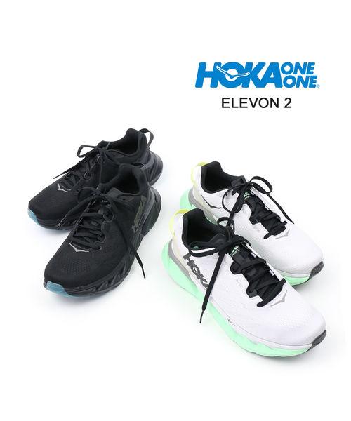 レディース靴, スニーカー HOKA ONE ONE() 2 M ELEVON 21106477-2542001D-3