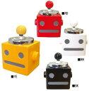【レビューを書いてオマケプレゼント】ロボタン回転灰皿【プッシュ式 フタ付き】【IQOS アイコス glo グローにも◎♪】