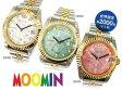 【すぐに使える10%OFFクーポン】70thAnniversary ムーミン腕時計 ダイヤ&スワロフスキー【送料無料】ムーミン生誕70周年を記念して2000本限定生産