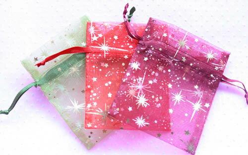 ★定型外郵便可★★7.2X9.5cmオーガンジー巾着袋20枚【ラッピング用品】ギフト 結婚式 景品 イベント ラッピング/オーガンジーポーチ/ジュエリーの保存やプレゼントに♪父の日 母の日 クリスマス等各種パーティーの引き出物やプレゼントに♪ ラッピング用品