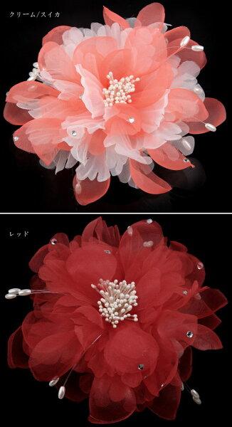 ★定型外郵便可★★高級感2WAYコサージュ★卒業式卒園式入学式入園式結婚式和装髪飾り帯飾り