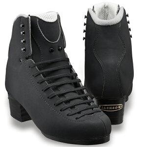 フィギュアスケート スケート靴 JACKSON(ジャクソン) エリート 5252 黒スエード