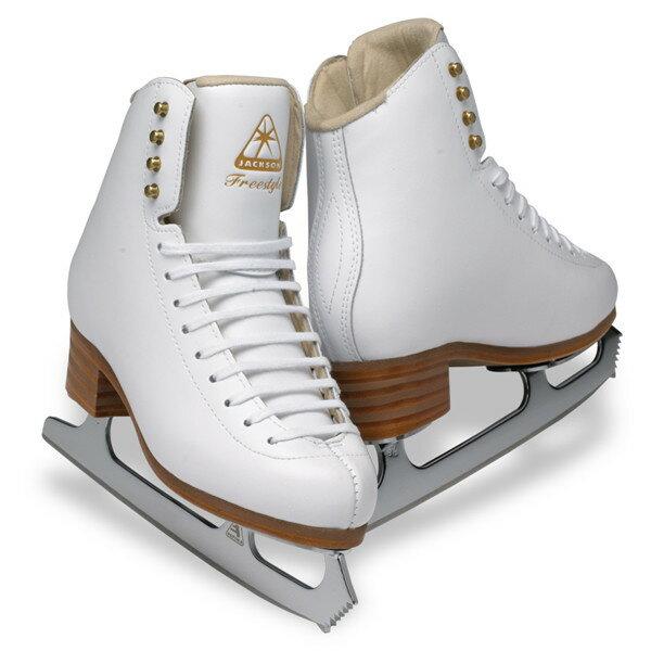 フィギュアスケート スケート靴 JACKSON(ジャクソン) フリースタイル ミラージュ セット 白:スケート靴・用品の小杉スケート