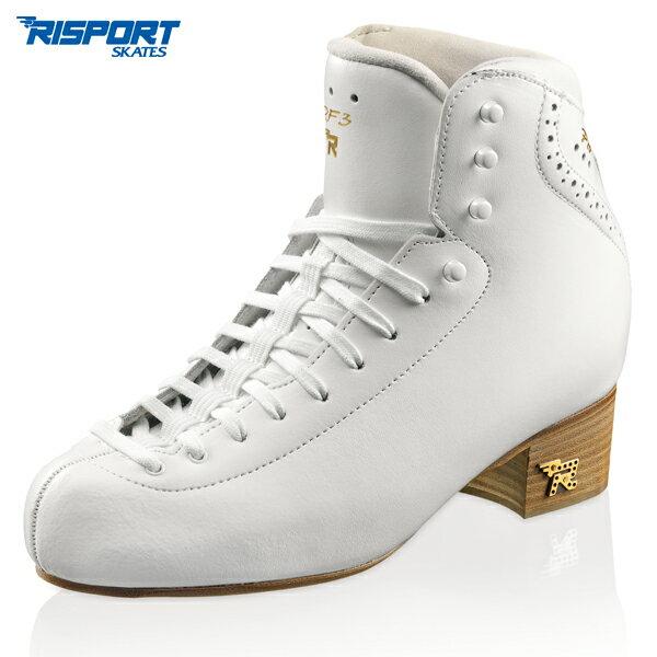 アイススケート, スケート靴 RISPORT RF3 PRO -White C