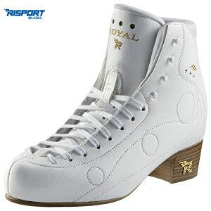フィギュアスケート スケート靴 RISPORT(リスポート) ROYAL PRO 白 C幅