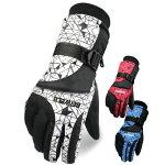 スノーボードグローブスノボ手袋メンズスキーグローブ厚手防寒防水