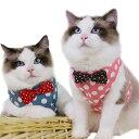 猫用 ハーネス 猫 リード 胴輪 ねこ 子犬 小型犬 首輪 子猫 服 かわいい おしゃれ 散歩 ベスト